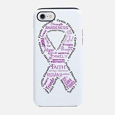 CF Words Ribbon iPhone 7 Tough Case