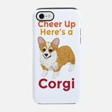 Unique Pembroke welsh corgis iPhone 7 Tough Case