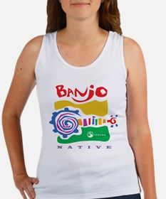 Funny Banjo Women's Tank Top