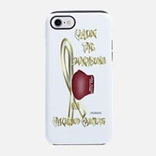 ChildhoodCancerBottle.png iPhone 7 Tough Case