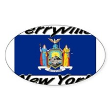 Terryville New York Oval Decal