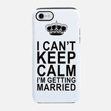 Cute Bridal party iPhone 7 Tough Case