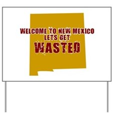 NEW MEXICO SHIRT PARTY TEE LE Yard Sign