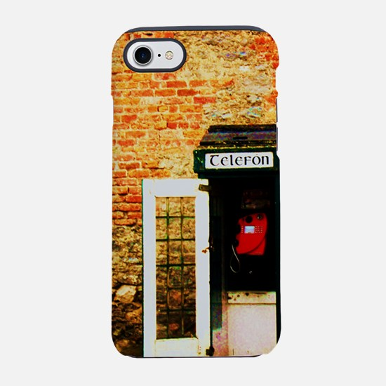 Irish Telephone Booth iPhone 7 Tough Case