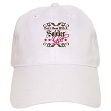 Don't Mess with a Soldier Gir Baseball Cap
