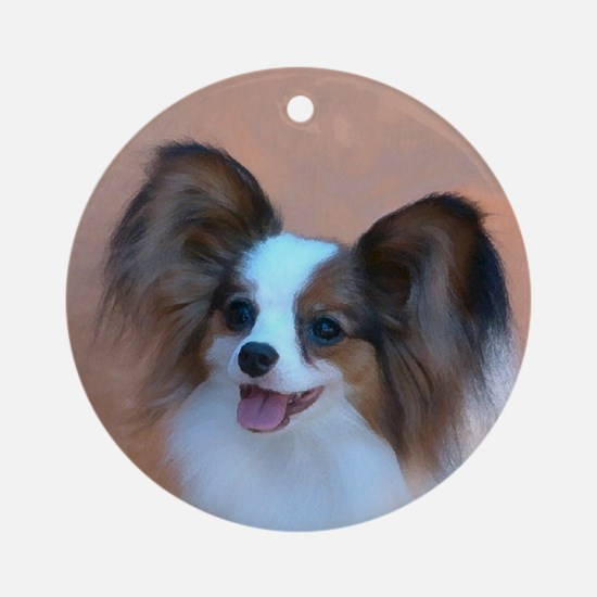 Sable Papillon Head Ornament (Round)