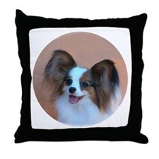 Sable Papillon Head Throw Pillow