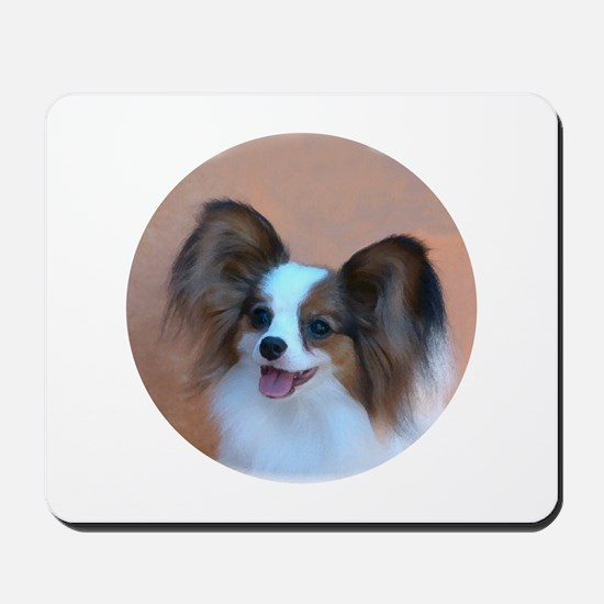 Sable Papillon Head Mousepad