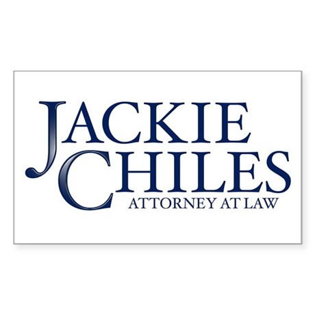 JACKIE CHILES, ATTORNEY AT LAW - Sticker