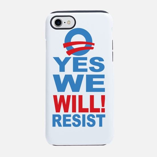 O YES RESIST 2.png iPhone 7 Tough Case