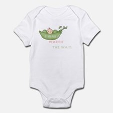 Worth The Wait Short Sleeve Infant - Body Suit