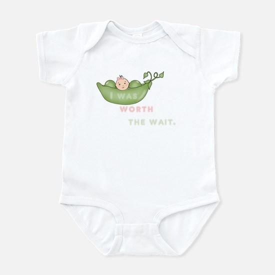 Worth The Wait Short Sleeve Infant - Body Suit