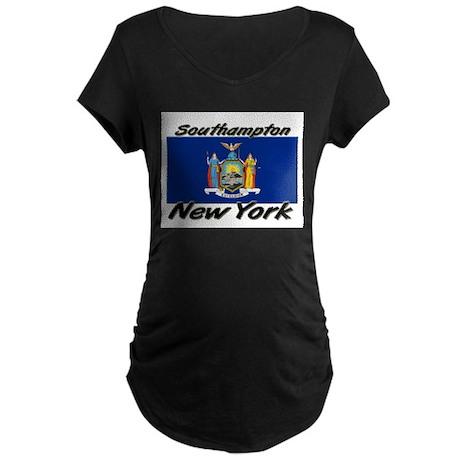 Southampton New York Maternity Dark T-Shirt