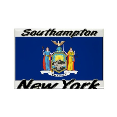 Southampton New York Rectangle Magnet