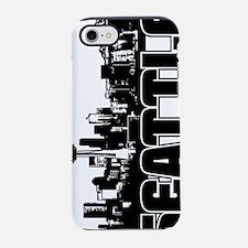 Seattle Skyline V iPhone 7 Tough Case