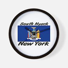 South Nyack New York Wall Clock