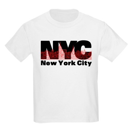 New York City Kids Light T Shirt New York City T Shirt