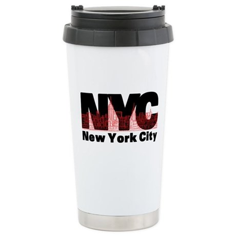 New York City Stainless Steel Travel Mug