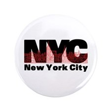 "New York City 3.5"" Button"
