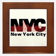 New York City Framed Tile