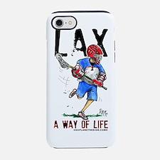 LaxWayLifeWht.png iPhone 7 Tough Case