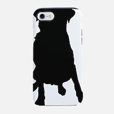 Labrador Retriever Silhouette iPhone 7 Tough Case