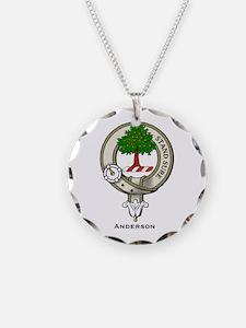 Anderson Clan Badge Necklace