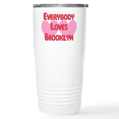 Everybody Loves Brooklyn Stainless Steel Travel Mu