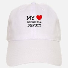 My Heart Belongs To A DEPUTY Cap