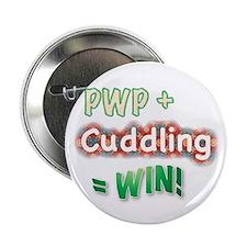 """Cuddling 2.25"""" Button"""