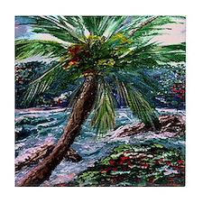 """""""Maui Palm"""" Tile Coaster"""