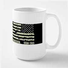 USS Minnesota Large Mug