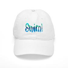 SWIM! Swim! SWIM! Baseball Cap