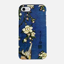 Bullfinch and drooping cherry. iPhone 7 Tough Case