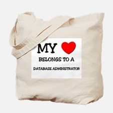 My Heart Belongs To A DATABASE ADMINISTRATOR Tote