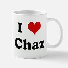 I Love Chaz Mug