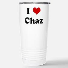 I Love Chaz Travel Mug