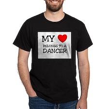 My Heart Belongs To A DANCER T-Shirt