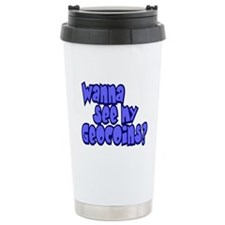 Wanna see my Geocoins? Travel Mug
