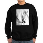Springing Cat Sweatshirt (dark)