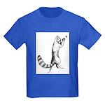 Springing Cat Kids Dark T-Shirt