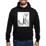 Springing Cat Hoodie (dark)