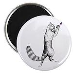 "Springing Cat 2.25"" Magnet (10 pack)"