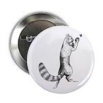 "Springing Cat 2.25"" Button"