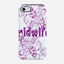 midwife swirl purple sigg.png iPhone 7 Tough Case