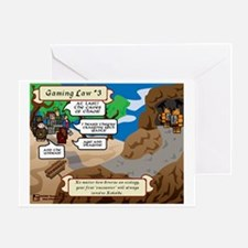 Gaming Law #3 Comic Greeting Card