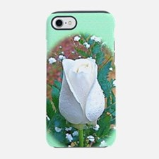 White Rose Flower Itouch2 itou iPhone 7 Tough Case