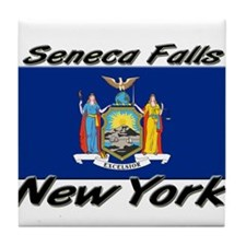 Seneca Falls New York Tile Coaster