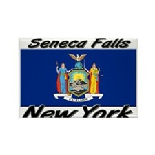 Seneca Falls New York Rectangle Magnet