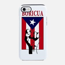 Boricua(blk).png iPhone 7 Tough Case